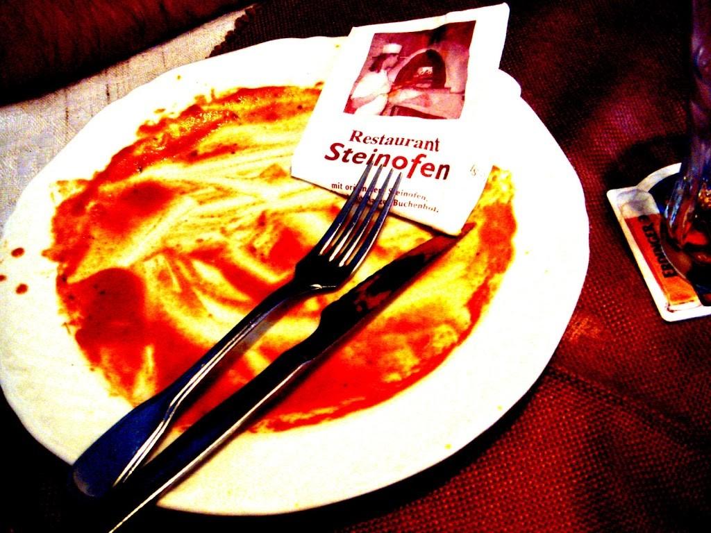 Zauberwelt? Entspannung: Im Harz hab ich keinen Diabetes... Teller leer!