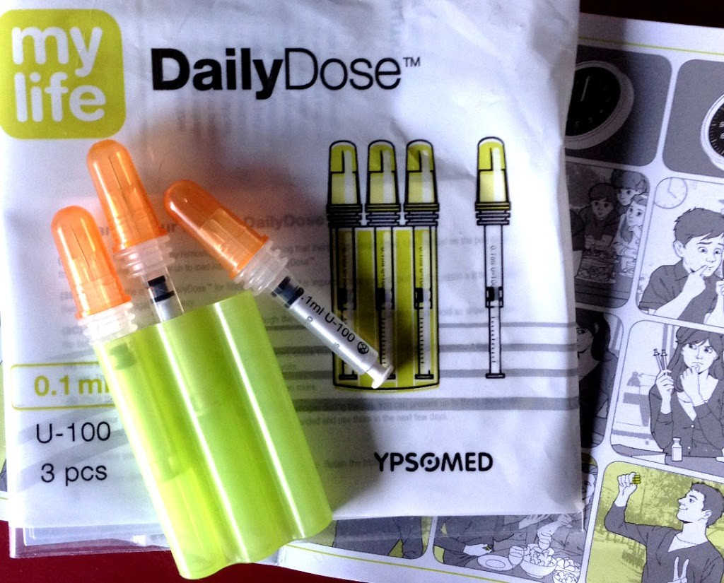Spritzen im Miniformat: Daily Dose - süß und blutzuckersenkend ;)