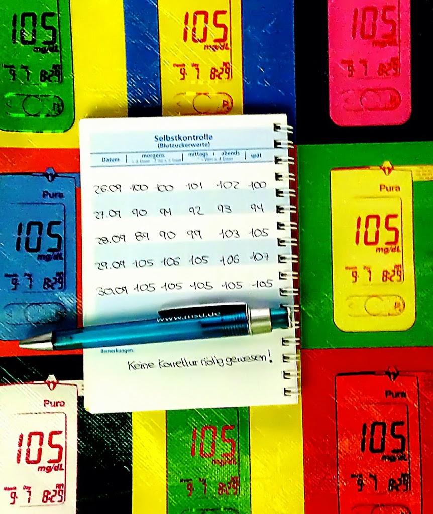 Das perfekte Blutzuckertagebuch – Staeffs (er)Leben mit Diabetes