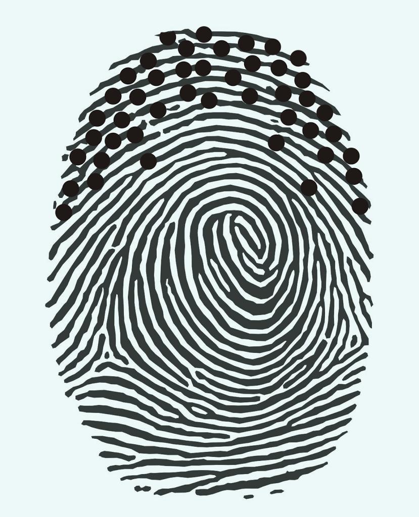 Bemerkenswert Bild Fingerabdruck Referenz Von Verrät, Wie Fleißig Diabetiker Den Blutzucker Misst