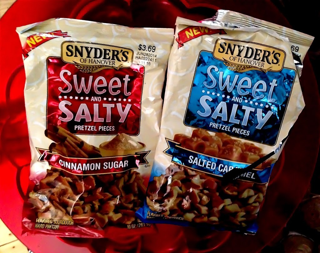 Snyder's of Hanover Sweet and Salty Zimt und gesalzenes Karamell