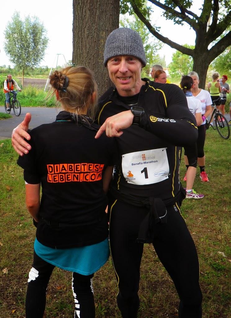 Diabetes-leben trifft Sportslovr beim Ultra-Marathon