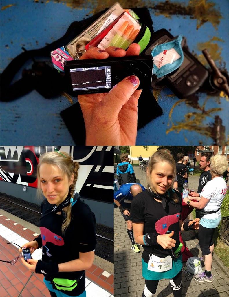 Ultra-Marathon: kontinuierliches Blutzuckermessen/Tempo