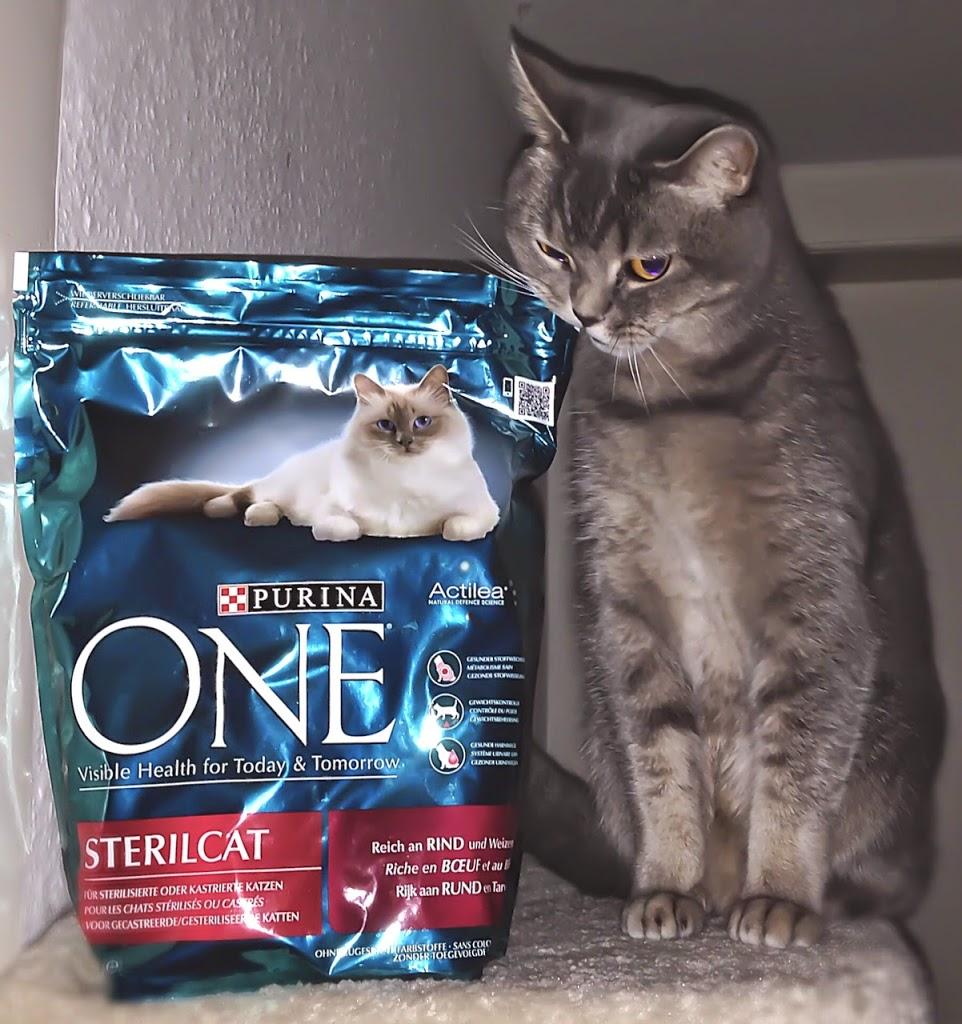 Das schmeckt mir! Spezialfutter für kastrierte Katzen... Muss es ja auch geben ;).