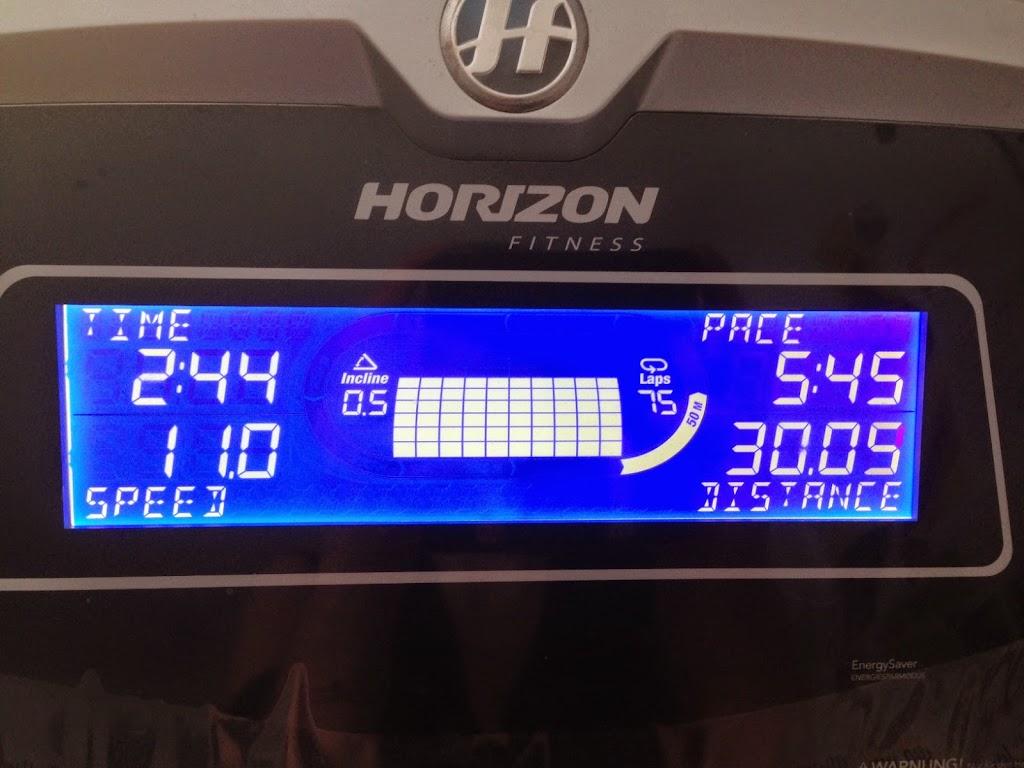 Blutzucker-Training härter als Lauftraining? Blutzucker-Laufteststrecke auf meinem Laufband