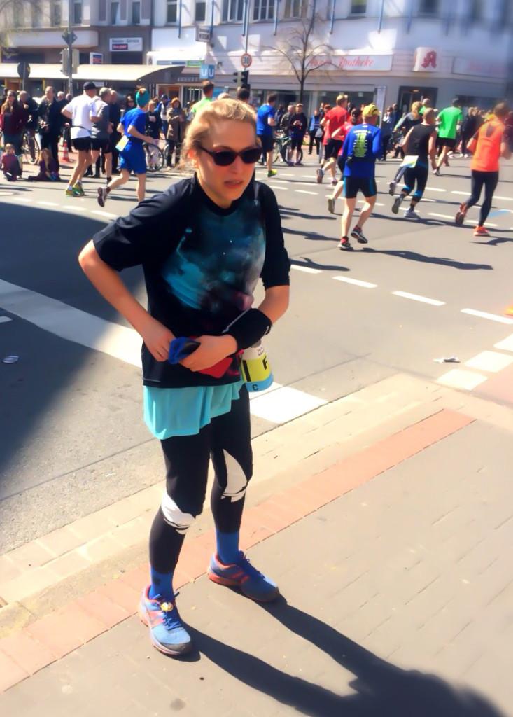 Voll unterzuckert beim Marathon Hannover 2015. Diabetes nervt!
