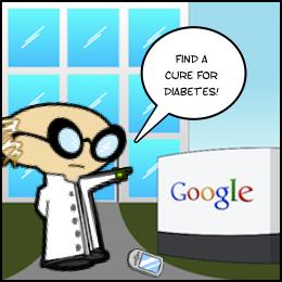 Wenn Medizinforscher in Sachen Diabetes Typ 1 und Heilung nicht voran kommen...