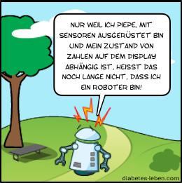 Diabetes  Typ 1 verstehen: Ich bin (k)ein Roboter!