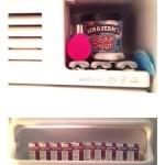 Insulin im Butterfach und OmniPod im Eisfach