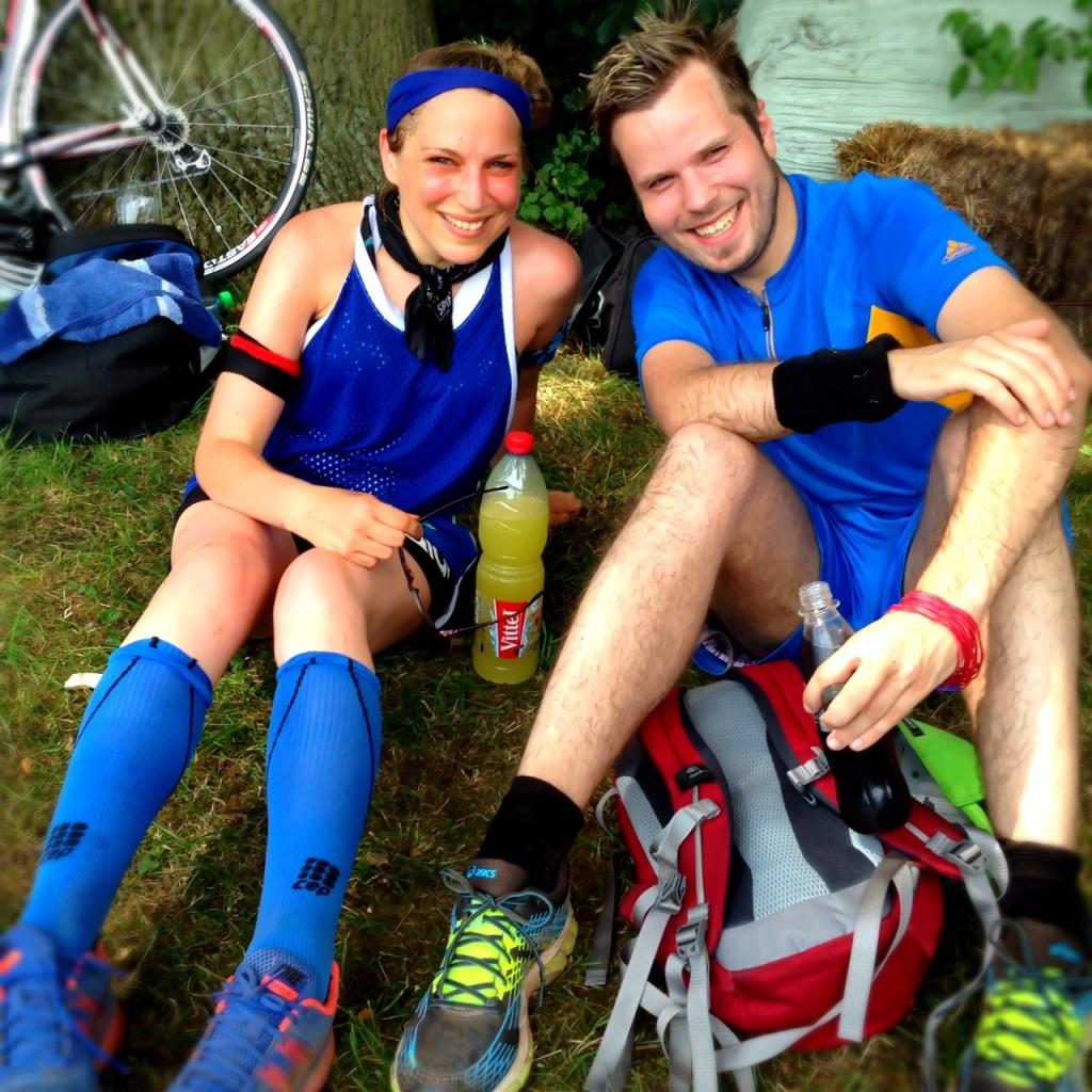 Muko-Lauf Hannover: Noch bin ich Selbstmanager meiner Blutzuckerwerte: Immer gut ausgestattet, besonders bei Hitze