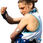 Sensor am Arm (FreeStyle Libre)