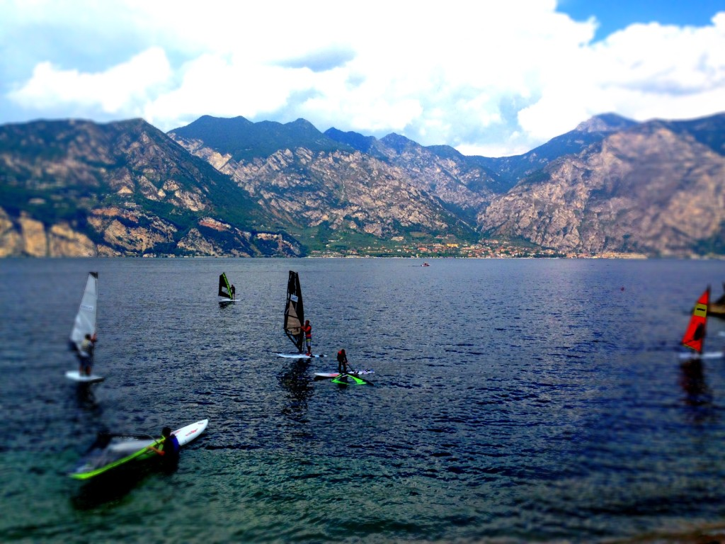 """Surfers Paradise"": Riva am Gardasee"