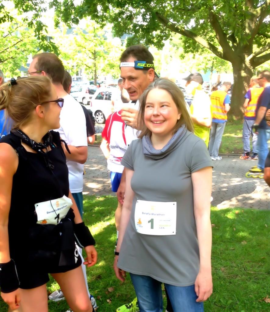 Mantale Stärke durch Diabetes... Mit Peter und Insa (Mukomania) beim Werkheim Marathon Hannover