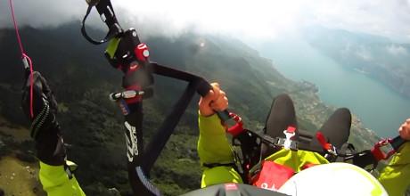 Paragliding Malcesine Gleitschirmflug