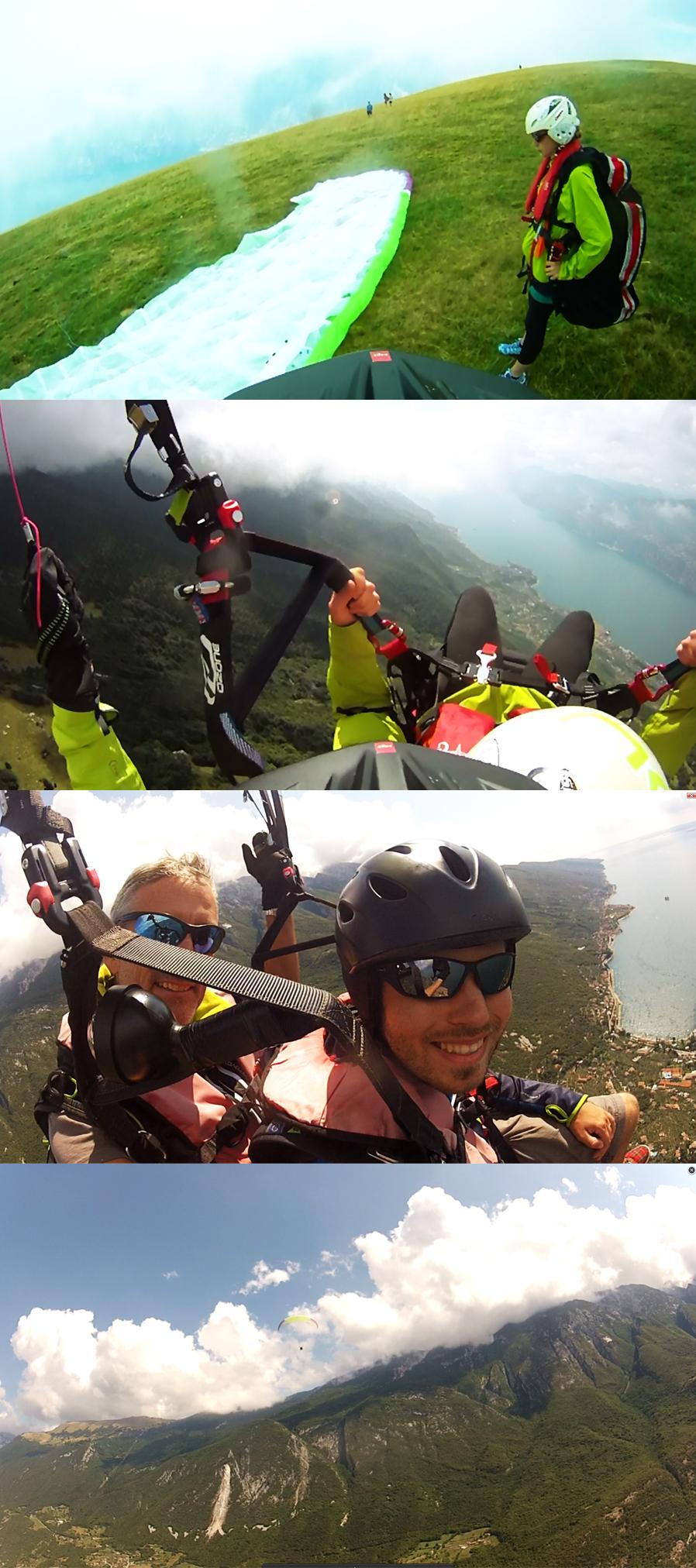 Paragliding Malcesine/Tandem-Gleitschirmflug, ein Traum!