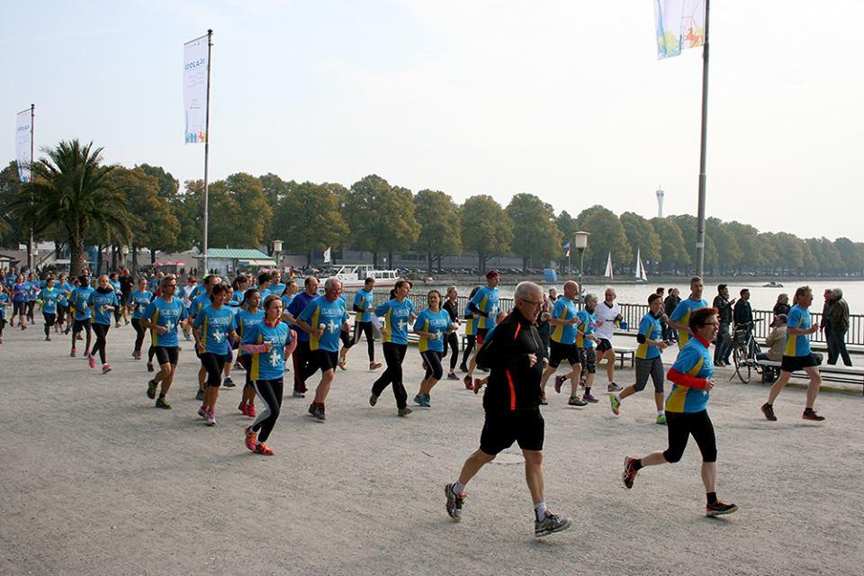 Lauf gegen Depression: Hannover Maschsee 2015