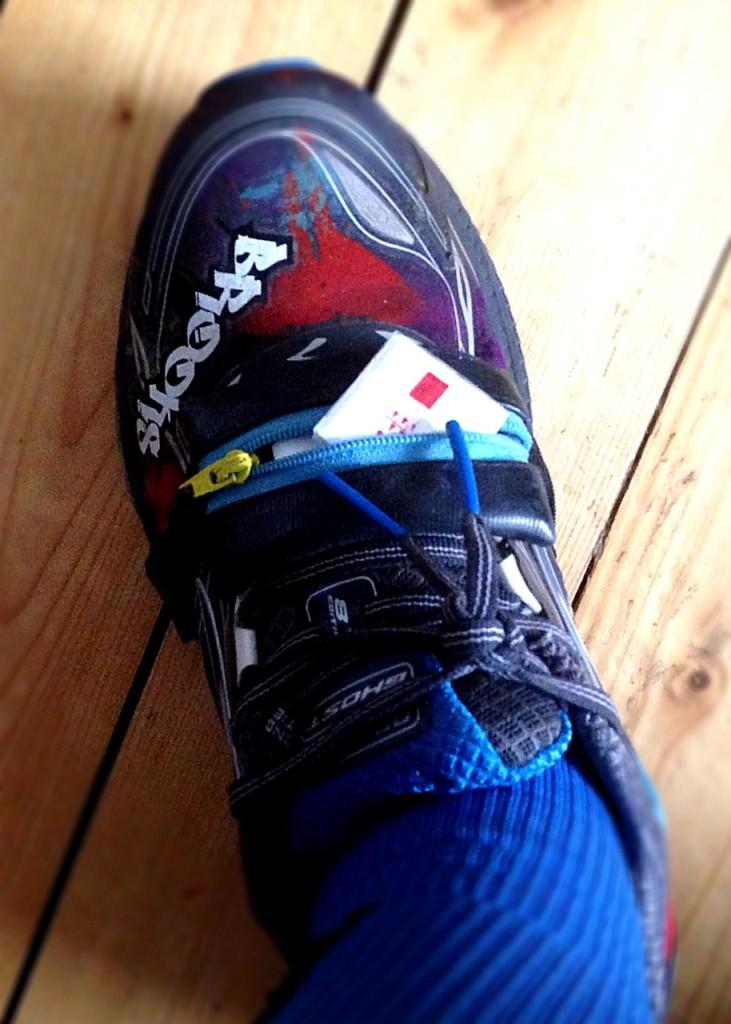 Traubenzucker am Schuh