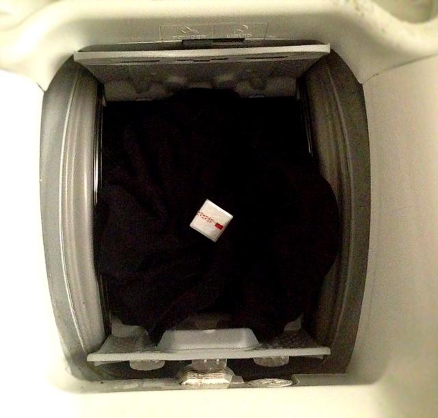 Traubenzucker in der Waschmaschine