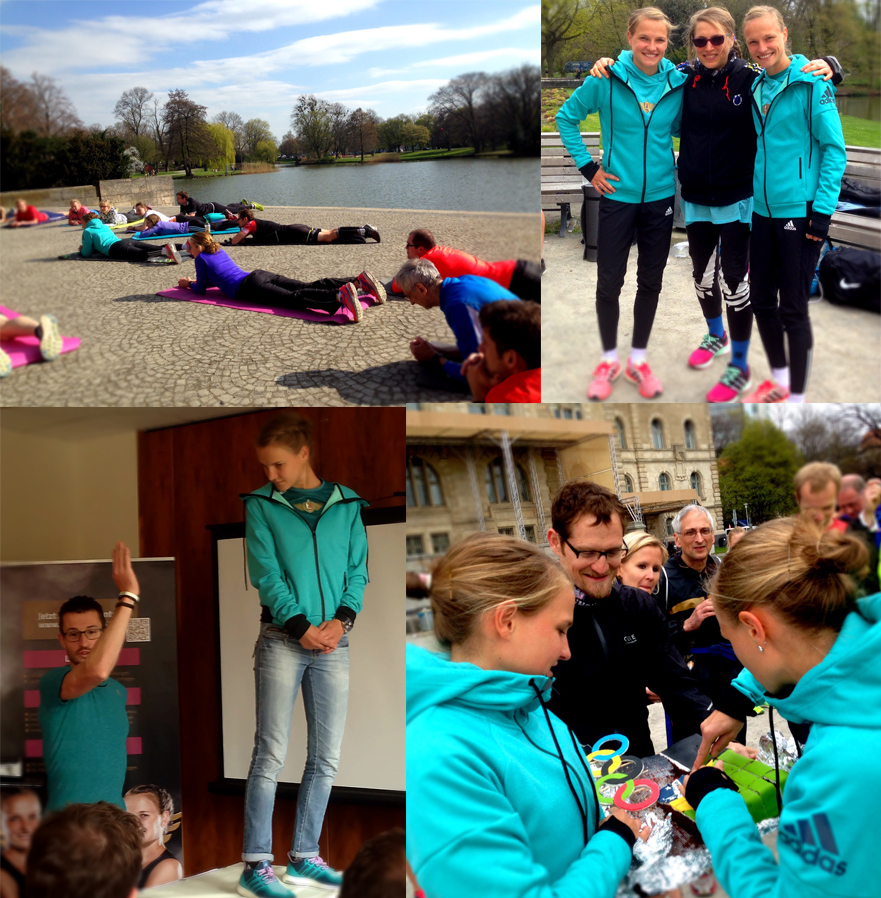 Hahner-Twins Lauftag Maschsee Hannover