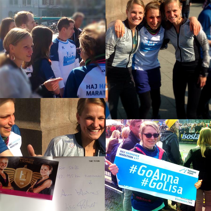 Hahner-Twins Marathon Hannover 2016
