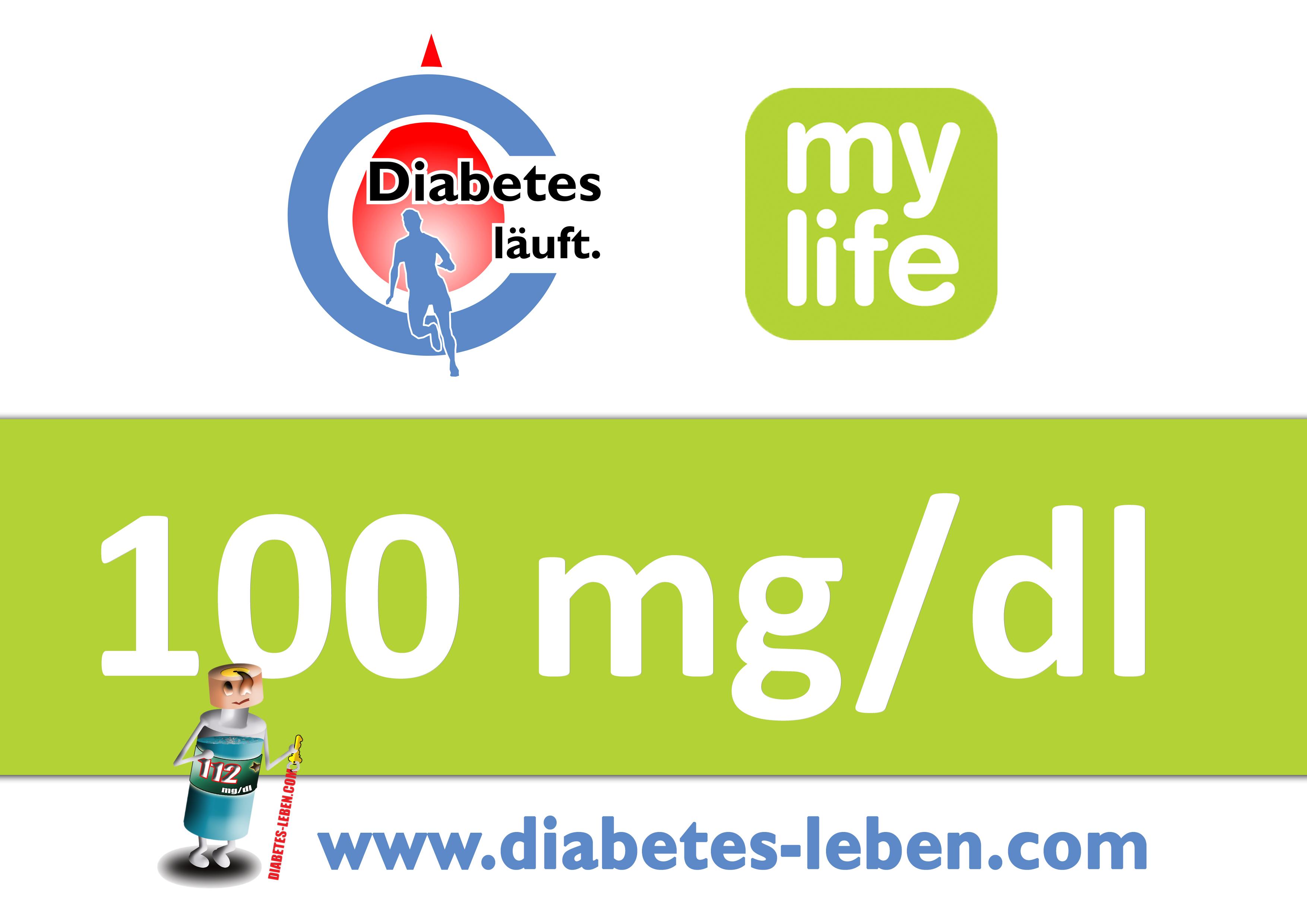 "Startnummer ""Diabetes läuft."""