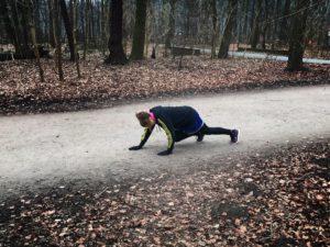 Crunning in Hannover Eilenriede