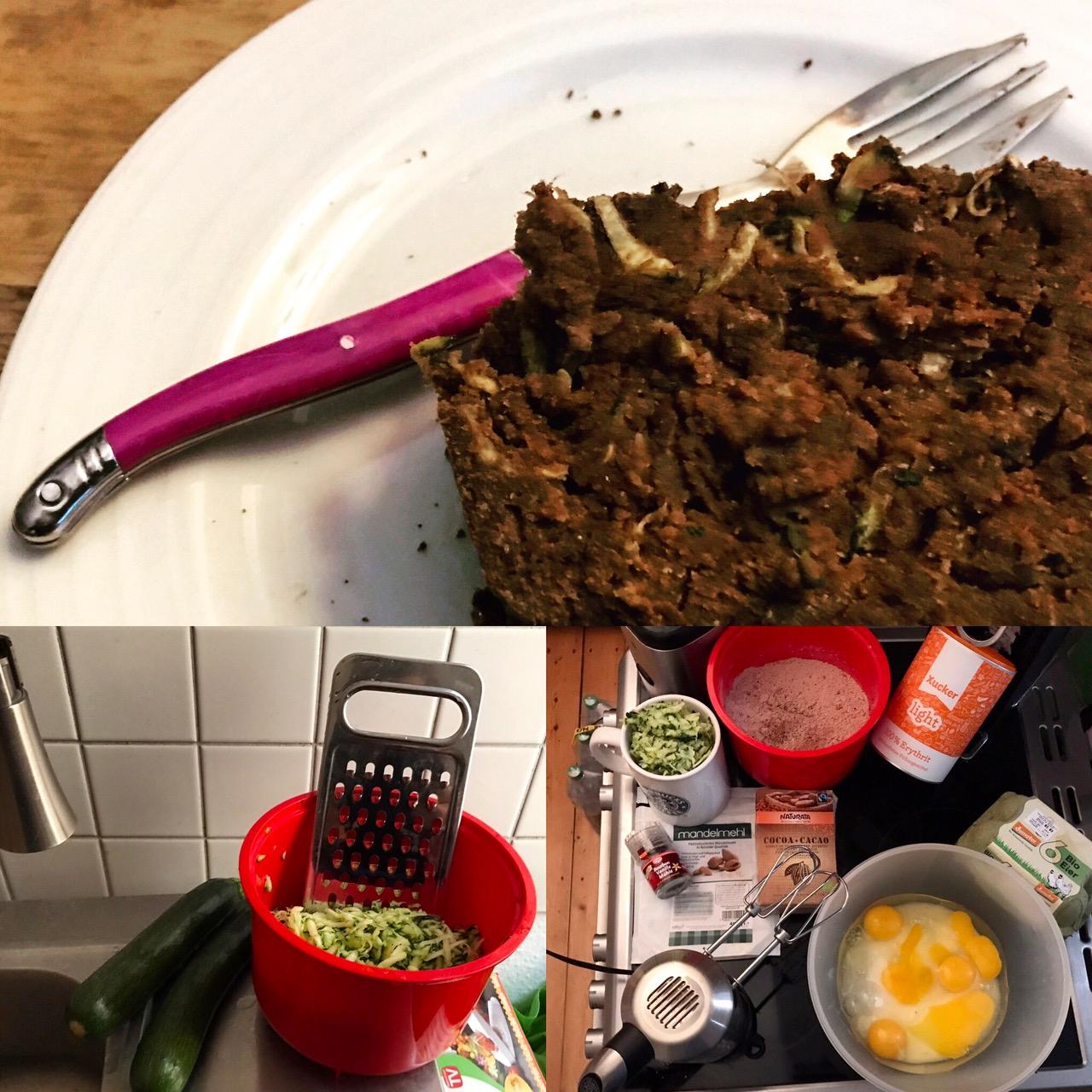 Zucchini-Schoko-Kuchen