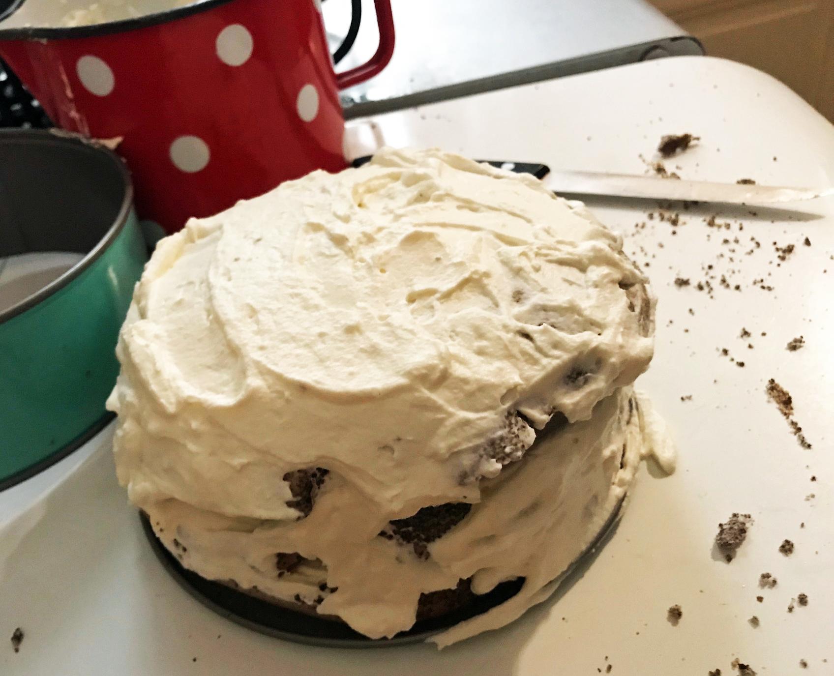 Mohn-Marzipan-Torte light: Zubereitung