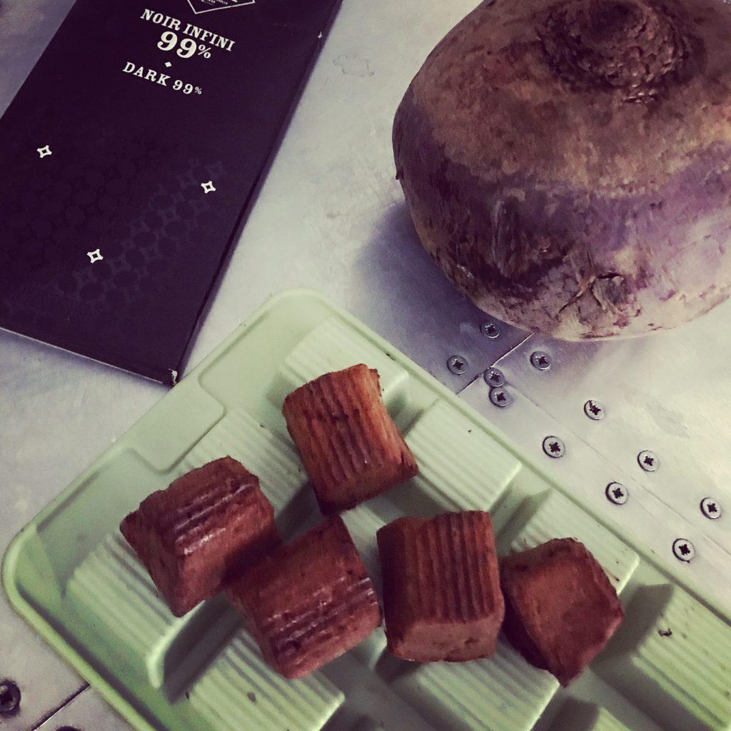 Rote-Beete-Schokoladenpralinen