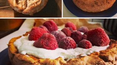 Baiser-Torte kalorienarm