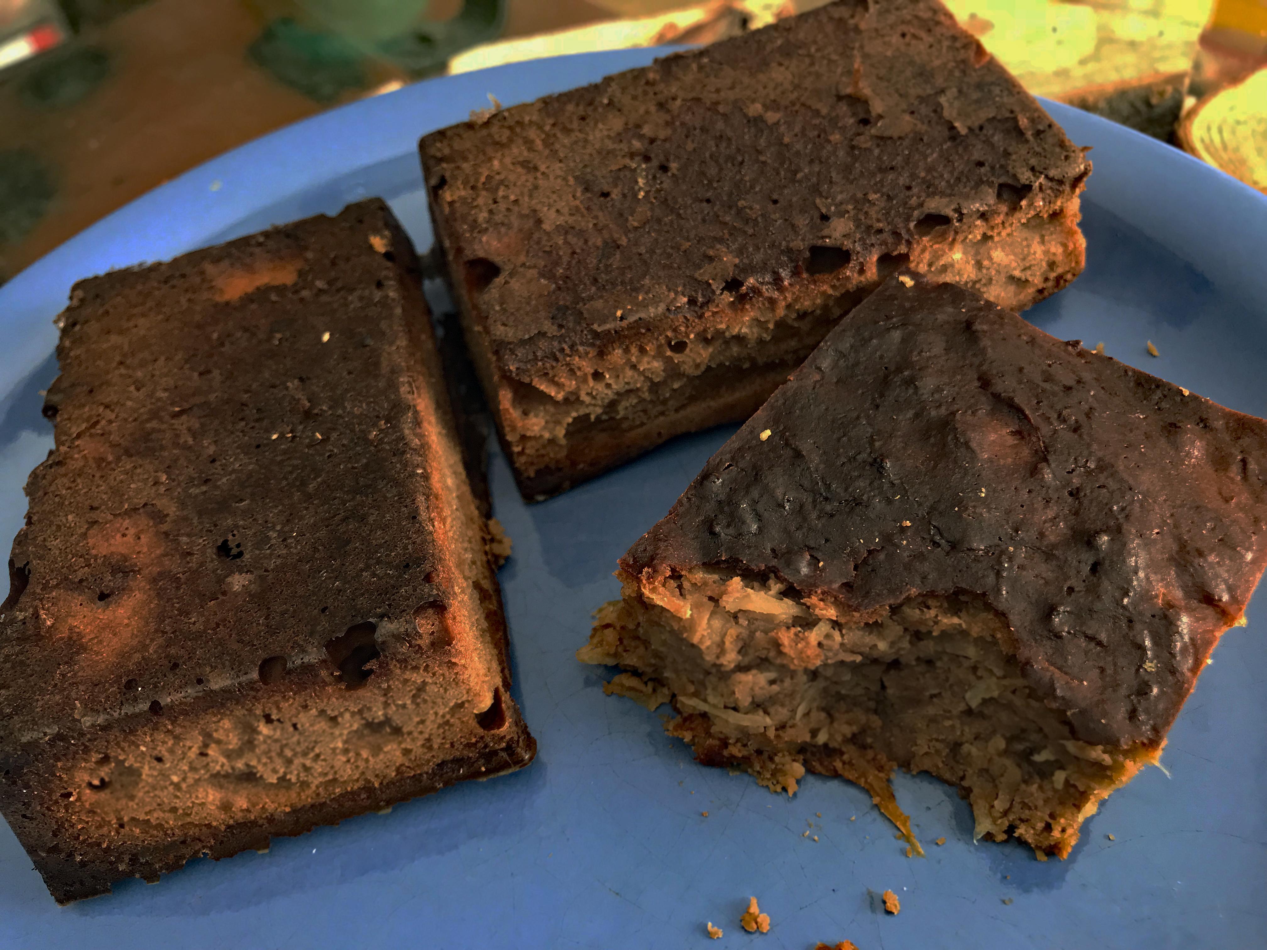Schokoladen Sauerkraut Brownies